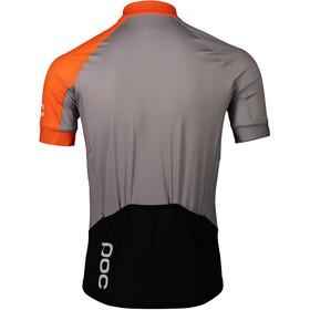POC Essential Road Jersey Men granite grey/zink orange